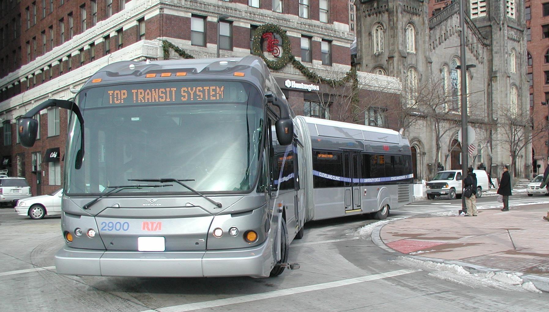 How Ohio funds public transit