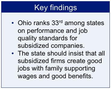 Money for something job creation and job quality standards in state ohios high rate of unemployment means job creation activity gets big headlines lots of efforts to lure companies to the state or keep them from leaving m4hsunfo
