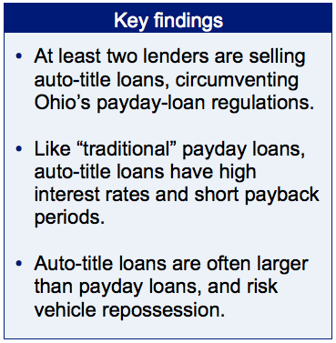 Keys For Collateral How Auto Title Loans Have Become Another